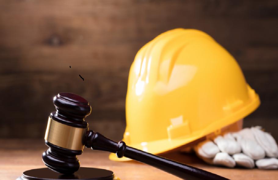 Safety helmet and gavel